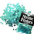 MysticFlakes メタリックエメラルドグリーン ティアドロップ 0.5g