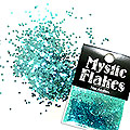 MysticFlakes メタリックエメラルドグリーン ヘキサゴン 1mm 0.5g