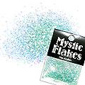 MysticFlakes パールエメラルドグリーン サークル 1mm 0.5g