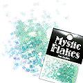 MysticFlakes パールエメラルドグリーン スター 0.5g