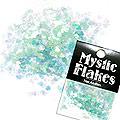 MysticFlakes パールエメラルドグリーン ミニハート 0.5g