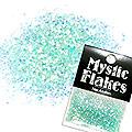 MysticFlakes パールエメラルドグリーン ヘキサゴン 1mm 0.5g