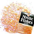 MysticFlakes パールオレンジ サークル 1mm 0.5g