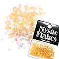 MysticFlakes パールオレンジ スター 0.5g