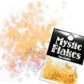 MysticFlakes パールオレンジ ハート 0.5g