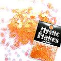 MysticFlakes パールオレンジ フラワー 0.5g