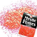 MysticFlakes パールレッド サークル 1mm 0.5g