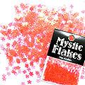MysticFlakes パールレッド スター 0.5g