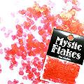 MysticFlakes パールレッド ハート 0.5g