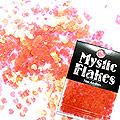 MysticFlakes パールレッド ミニハート 0.5g