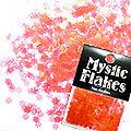 MysticFlakes パールレッド フラワー 0.5g
