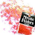 MysticFlakes パールレッド バタフライ 0.5g