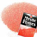 MysticFlakes パールレッド ラメシャイン 0.5g