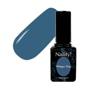 Naility! ステップレスジェル 121 ヴィンテージネイビー 7g