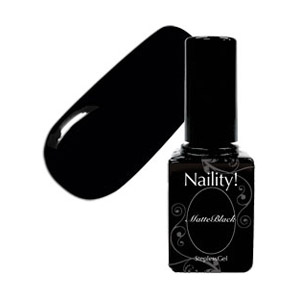 Naility! ステップレスジェル 000 マットブラック 7g