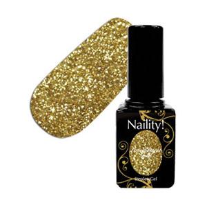 Naility! ステップレスジェル 026 ラメバーストゴールド 7g
