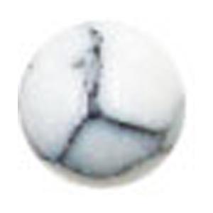 Bonnail ×RieNofuji marumarble マットホワイト 4mm/12P