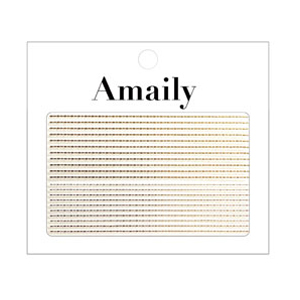 Amaily ネイルシール NO.5-19 飾りラインG