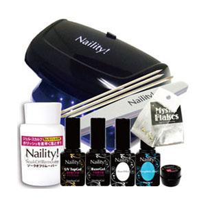 限定 Naility! ステップレスジェル LEDライト付きセット 2018 SUMMER