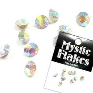 MysticFlakes ダイヤモンドカットストーン SS-20 クリスタルオーロラ 10P