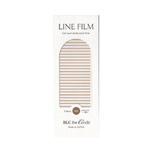BLC for CORDE ラインフィルム ゴールド 0.8mm