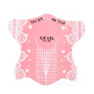 ICE GEL ネイルフォーム ピンク 100P