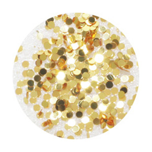 BEAUTY NAILER 純銀グリッター SGP-11 ゴールド 1mm /2g