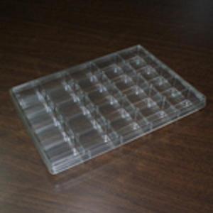 ONODESTYLE ディスプレイケース 25マス A4サイズ (1マス32x48x25mm)