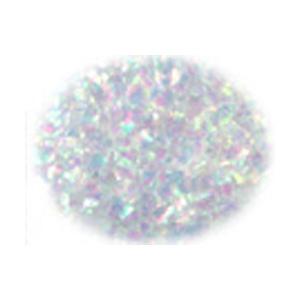 ピカエース 乱切オーロラ #710 ホワイト 0.5g