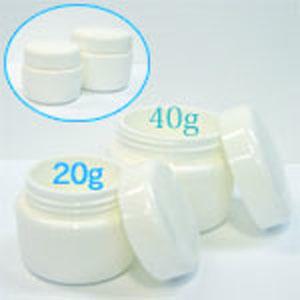 ジェル用プラスチック空容器 ホワイト 40mL