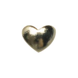 Jewelry-Nail LittlePretty LP-7015 スタッズハート ゴールドS 50P