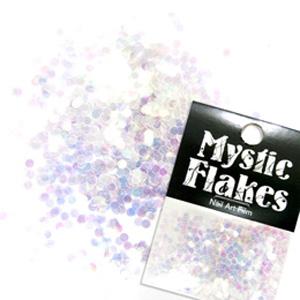 MysticFlakes オーロラホワイト サークル 2mm 0.5g