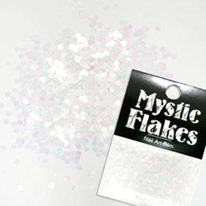 MysticFlakes パステルホワイト サークル 2mm 0.5g