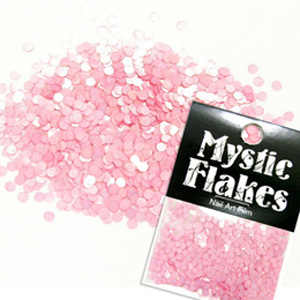 MysticFlakes パステルピンク サークル 2mm 0.5g