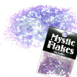 MysticFlakes オーロラパープル 乱切 1g