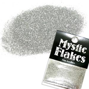 MysticFlakes メタリックシルバー ラメシャイン 0.5g