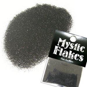 MysticFlakes メタリックブラック ラメシャイン 0.5g