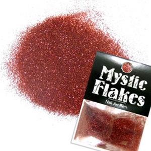 MysticFlakes メタリックレッド ラメシャイン 0.5g