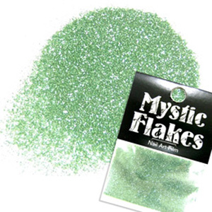 MysticFlakes メタリックLtグリーン ラメシャイン 0.5g