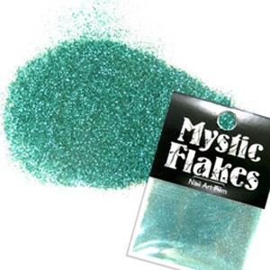 MysticFlakes メタリックエメラルドグリーン ラメシャイン 0.5g