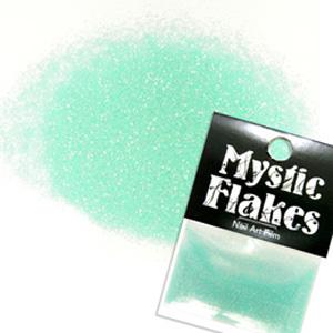 MysticFlakes パールエメラルドグリーン ラメシャイン 0.5g