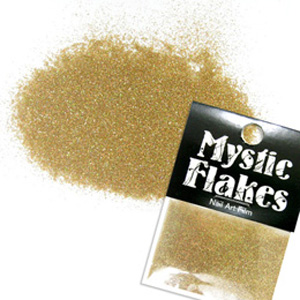 MysticFlakes ホロスパークゴールド ラメシャイン 0.5g