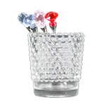 ホビネルグラス フロストホワイト(ガラス容器)