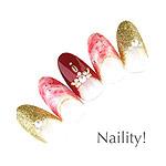 Naility! ステップレスジェル 191 ボルドー 7g
