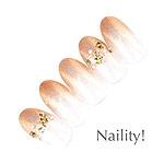 Naility! ステップレスジェル 055 ラメグロスロゼ 7g