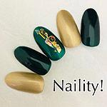 Naility! ジェルネイルカラー 091 ビリジアン 4g
