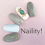 Naility! ジェルネイルカラー 004 ブライトグレー 4g