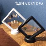 SHAREYDVA ディスプレイフレーム ホワイト S