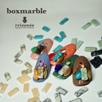 Bonnail ×RieNofuji boxmarble マットターコイズ 12P