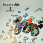 Bonnail ×RieNofuji boxmarble オペークホワイト 12P